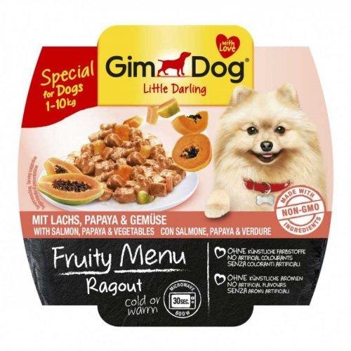 Gimpet Fruity Menu - консервы Джимпет с лососем, папайей и овощами для собак