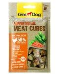 Gimpet Superfood - мясные кубики Джимпет с курицей, морковью и шпинатом для собак