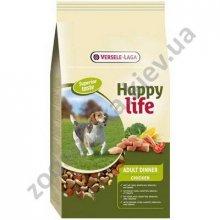 Happy Life Adult Chicken DInner - корм для взрослых собак Хепи Лайф с курицей