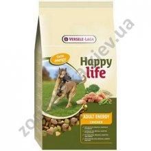 Happy Life Adult Chicken Energy - корм для активных собак Хеппи Лайф с курицей