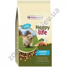Happy Life Junior Chicken - корм для щенков Хеппи Лайф с курицей