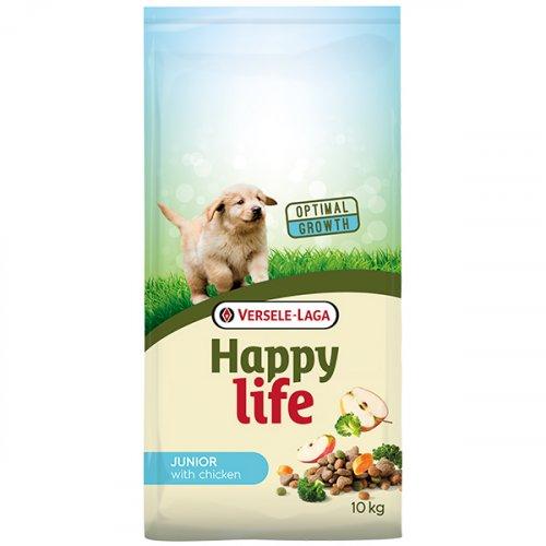 Happy Life Junior with Chicken - корм для щенков Хеппи Лайф с курицей