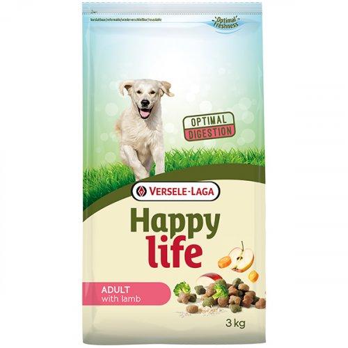 Happy Life Adult with Lamb - корм для взрослых собак Хеппи Лайф с ягненком