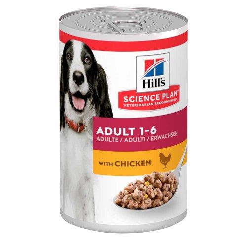 Hills SP Canine Adult Chicken - консервы Хиллс с курицей для собак