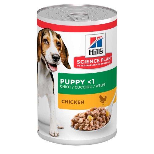 Hills SP Canine Puppy Chicken - консервы Хиллс с курицей для щенков