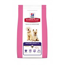 Hills SP Mature Adult 7+ Small & Miniature - корм Хилс для пожилых собак мелких пород
