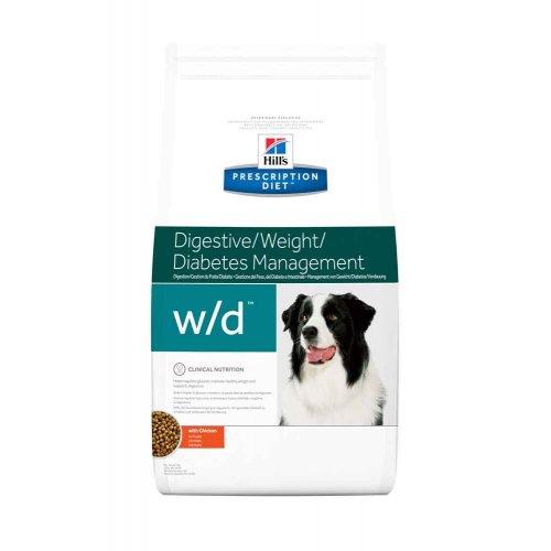 Hills PD Canine w/d - диетический корм Хиллс для собак