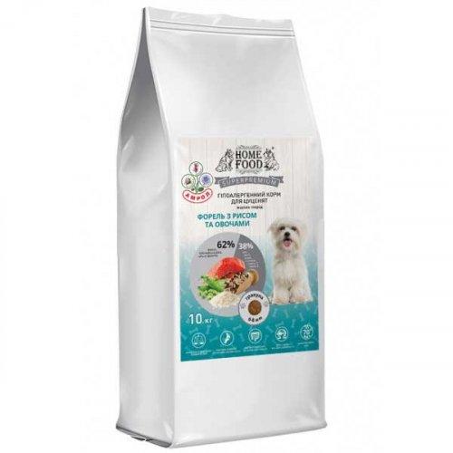 Корм с форелью Home Food для собак