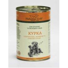 Hubertus Gold - корм Хубертус Голд с курицей для щенков