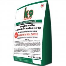 K9 Selection Growth Formula - профессиональный корм К9 для щенков всех пород