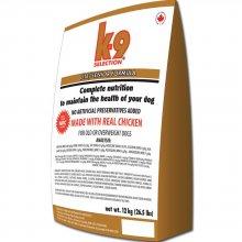K9 Selection Lite/Senior Formula - профессиональный корм К9 для пожилых и малоактивных собак
