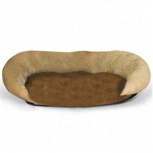 K and H Bolster Brown - согревающий лежак Болстер Браун для собак