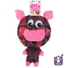 Karlie-Flamingo Big Headz - мягкая игрушка Карли-Фламинго Большая голова для собак