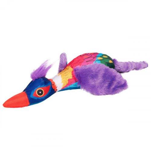 Karlie-Flamingo Crazy Bird - мягкая игрушка Карли-Фламинго для собак