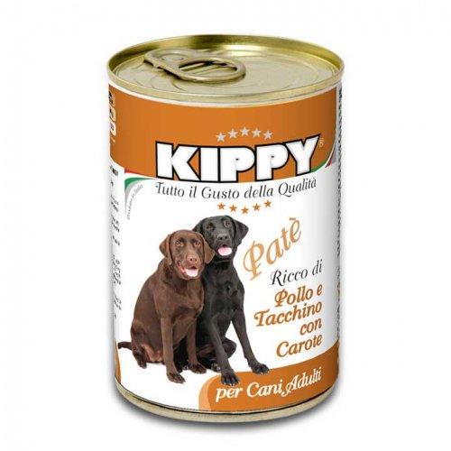 Kippy - паштет Киппи из курицы, индейки и моркови для собак