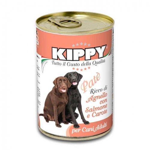 Kippy - паштет Киппи из ягненка, лосося и моркови для собак
