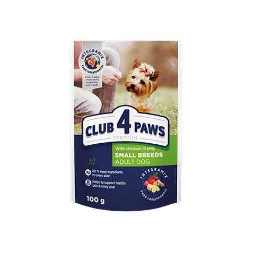 C4P Premium - консервы с курицей в желе для собак мелких пород