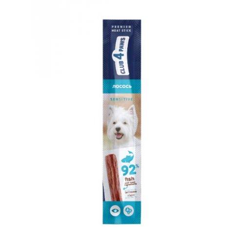 C4P Premium - мясная палочка Клуб 4 Лапы с лососем для собак