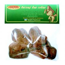 Лакмир - лакомство для собак, пятаки свиные