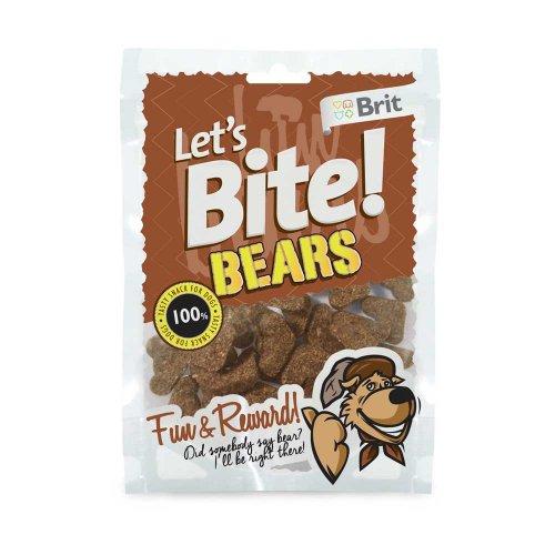 Lets Bite Bears - тренировочное лакомство Летс Байт мишки с диким кабаном