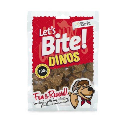 Lets Bite Dinos - тренировочное лакомство Летс Байт динозаврики с ягненком