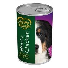 Lovely Hunter Puppy - консервы Лавли Хантер с говядиной и курицей для щенков