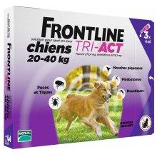 Merial FrontLine Tri-Act - капли от блох и клещей Фронтлайн Три-Акт для собак