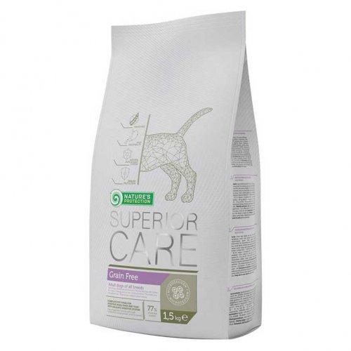 Natures Protection Grain Free - корм Нейчерс Протекшн для взрослых собак всех пород