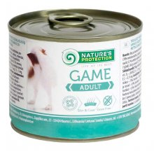 Natures Protection Game - консервы Нейчерс Протекшн с дичью