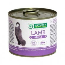 Natures Protection Lamb - консервы Нейчерс Протекшн, с ягненком