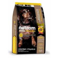Nutram T27 Total Grain Free - корм Нутрам с индейкой и курицей для собак мелких пород