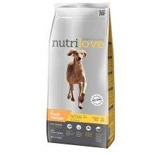 Nutrilove Active - корм Нутрилав с курицей и рисом для собак всех пород