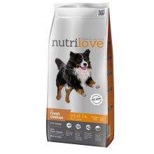 Nutrilove Adult Large - корм Нутрилав с курицей и рисом для собак крупных пород