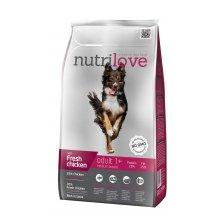 Nutrilove Adult Medium - корм Нутрилав с курицей и рисом для собак средних пород