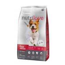 Nutrilove Adult Small - корм Нутрилав с курицей и рисом для собак мелких пород