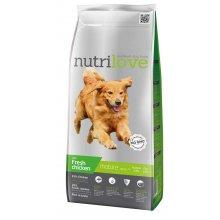 Nutrilove Senior - корм Нутрилав с курицей и рисом для собак всех пород