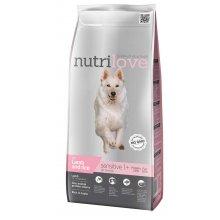 Nutrilove Sensitive - корм Нутрилав с ягненком и рисом для собак всех пород