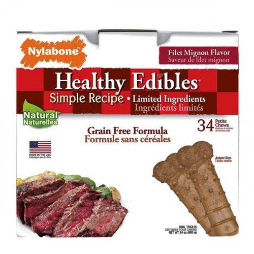 Nylabone Healthy Edibles - беззерновое лакомство Нилабон для собак