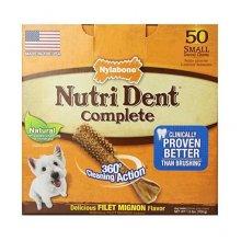 Nylabone Nutri Dent - лакомство Нилабон с мясом для чистки зубов собак