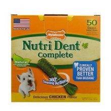 Nylabone Nutri Dent - лакомство Нилабон с курицей для чистки зубов собак