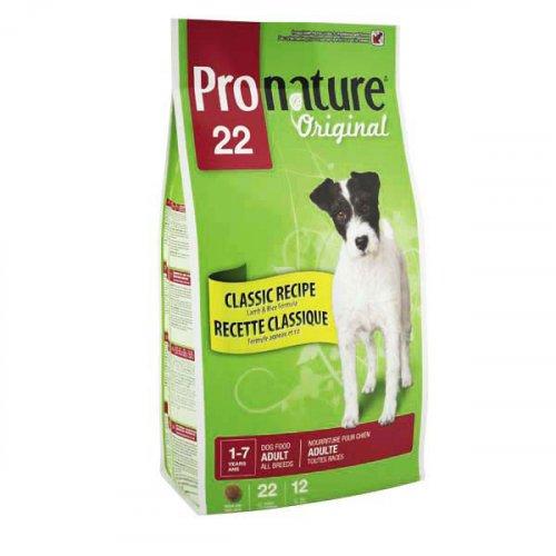 Pronature Original Dog Adult All Breeds - корм Пронатюр с ягненком для собак всех пород