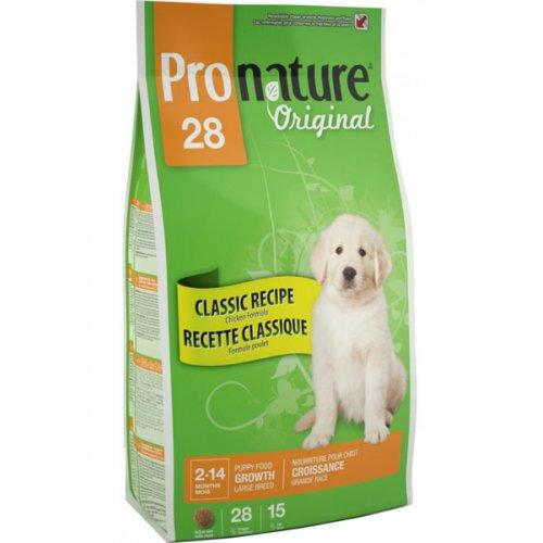 Pronature Original Puppy Large Breed - корм Пронатюр с курицей для щенков крупных пород