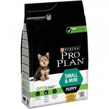 Purina Pro Plan Puppy Small and Mini Optistart - корм Пурина для щенков мелких и карликовых пород