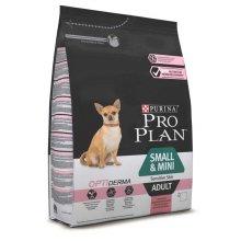 Purina Pro Plan Adult Small and Mini Sensitive Skin - корм Пурина с лососем для собак мелких пород