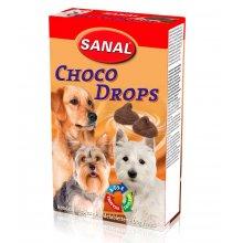 Sanal Choco Drops - мультивитаминное лакомство Санал Шоко Дропсы