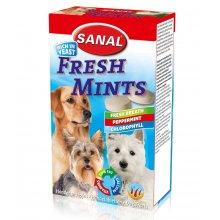 Sanal Fresh Mints - мультивитаминное лакомство Санал для свежего дыхания