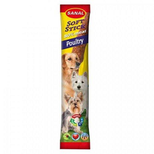 Sanal Soft Sticks Poultry - колбаски Санал с домашней птицей для собак