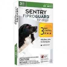 Sentry FiproGuard - капли антипаразитарные Сентри для собак 10-20 кг