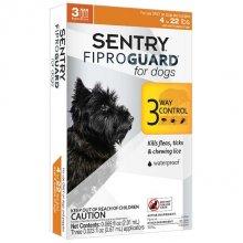 Sentry FiproGuard - капли антипаразитарные Сентри для собак до 10 кг