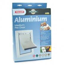 Staywell Aluminium Medium - дверцы Стэйвел алюминиевые для средних собак